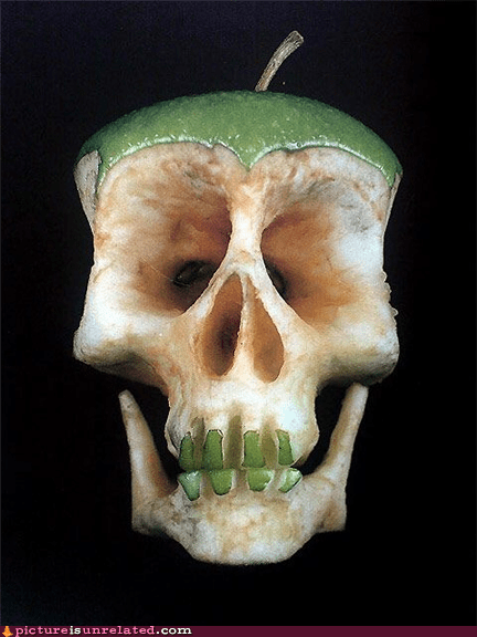 apple,cool,skull,wtf
