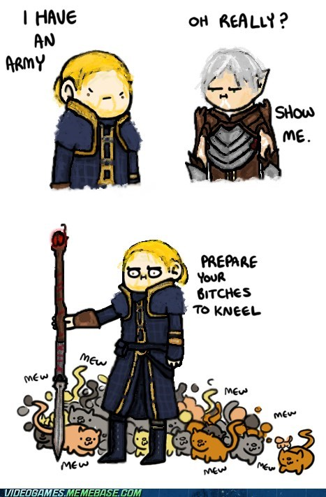 anders Cats comic dialogue dragon age 2 fenris - 6321037312