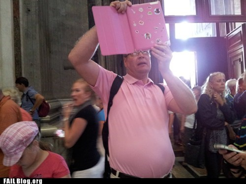 dad,ipad,photograph,pink,fail nation,g rated