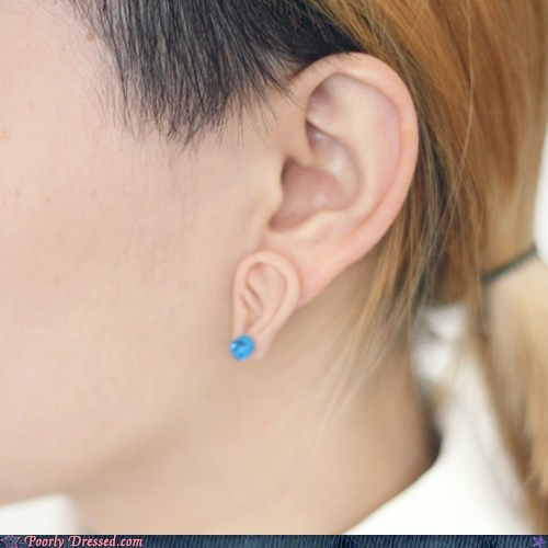 accessory cute Earring ears Inception yo dawg - 6321411072