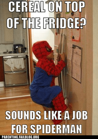 childrens-costumes refridgerators Spider-Man
