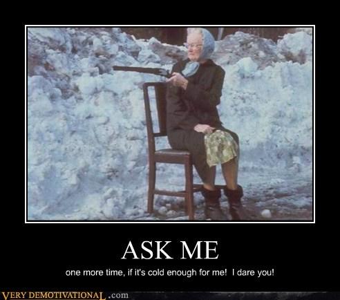 bad idea hilarious old lady shotgun - 6321575936