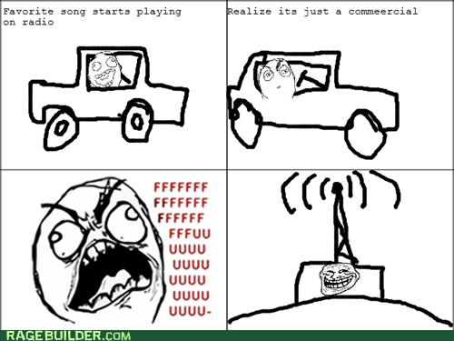 commercial,fu guy,radio,Rage Comics