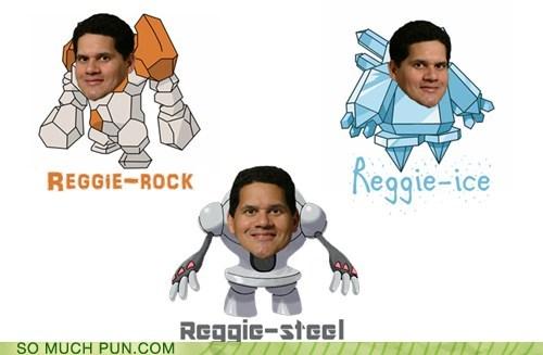 cycle homophone literalism nintendo Pokémon reggie regice regirock registeel shoop spokesperson - 6321720320