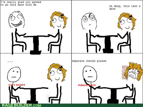 dating poker face Rage Comics relationships - 6321782016