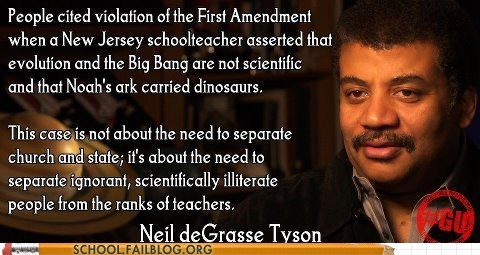 church and state,education,g rated,Hall of Fame,Neil deGrasse Tyson,School of FAIL,Words Of Wisdom