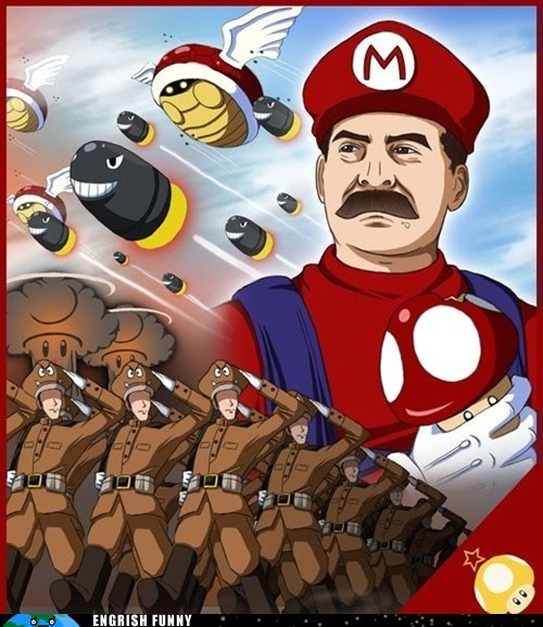 Bullet Bill bullet boris capitalism capitalist communism communist goomba Hall of Fame joseph stalin koopa lakitu bros lenin mario mother mushia mother russia motherland mushroom mushroom kingdom nintendo russia Soviet Russia stalin super mario super mario 64 toad toadstool