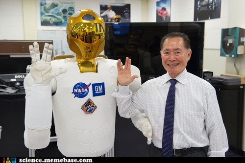 nasa,robot,Rocket Science,sulu,Vulcan