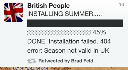 British loading summer twitter UK - 6322213376