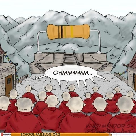 buddhism class is in session ohm Physics 303 - 6322234624