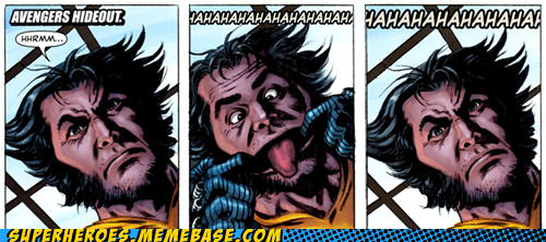 funny faces,kids,Straight off the,Straight off the Page,wolverine