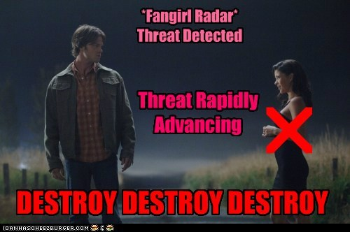 advancing detection crossroads demon destroy fangirl Jared Padalecki sam winchester Supernatural threat - 6322592256