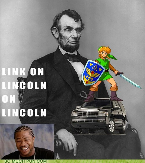 double meaning Inception lincoln link literalism redundancy superfluity yo dawg