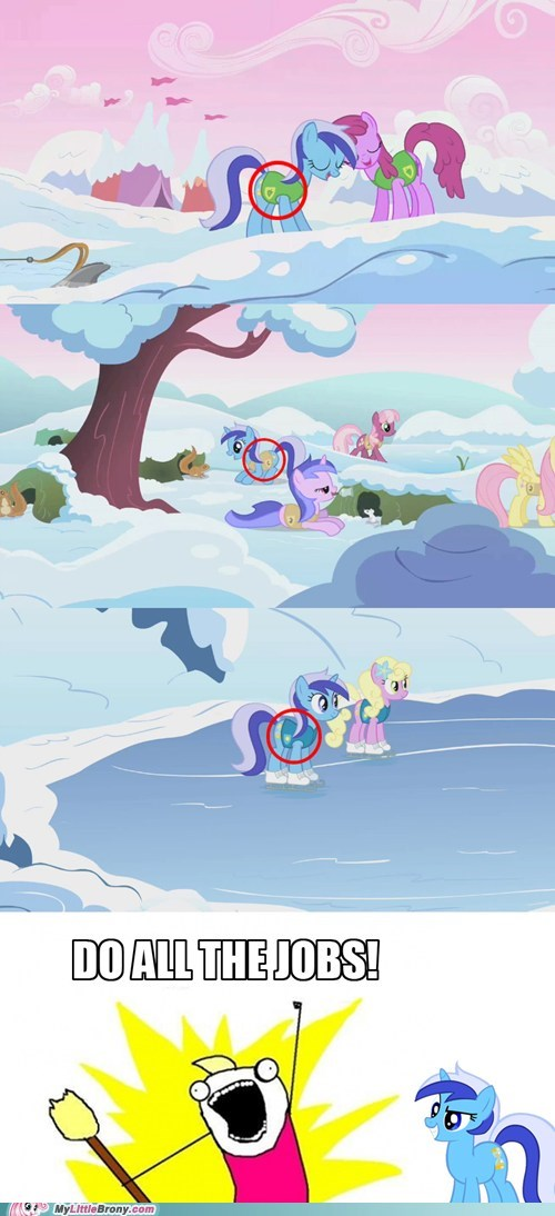 background ponies colgate comic mvp TV winter wrap up - 6322851584