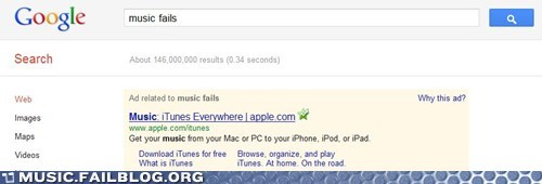 google iTunes Music FAILS - 6322890240