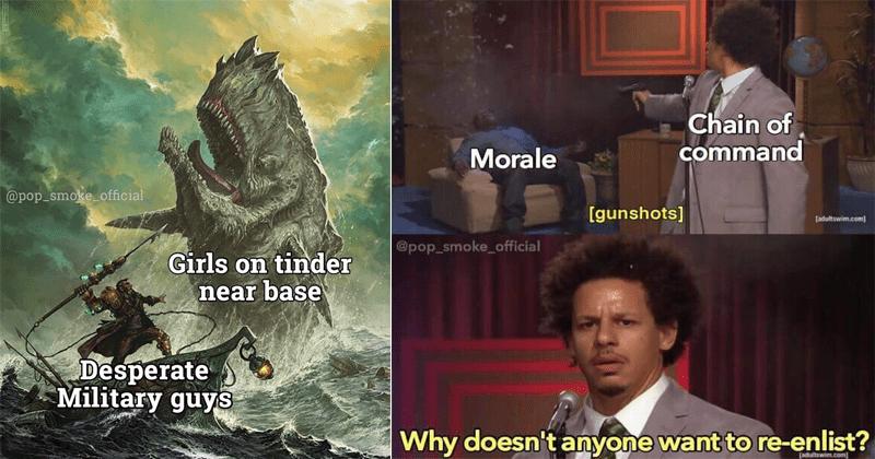 Funny military memes, patriotic memes.