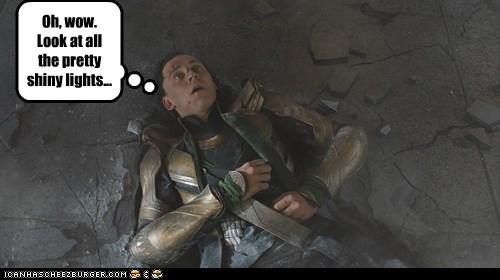 avengers beat down lights loki pretty shiny tom hiddleston - 6323028224