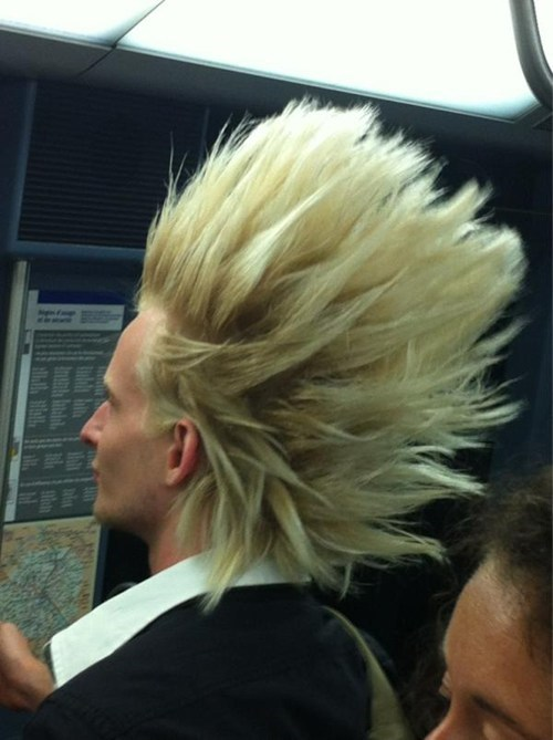 Dragon Ball Z g rated hair over 9000 poorly dressed super saiyan - 6323339776