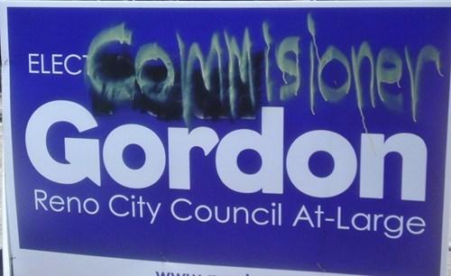 batman commissioner gordon elect Random Heroics sign - 6323692032