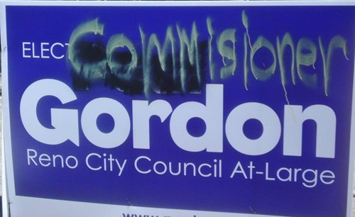 batman commissioner gordon elect Random Heroics sign - 6323692032