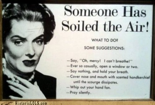 advertisement etiquette farts gas lady - 6323709184