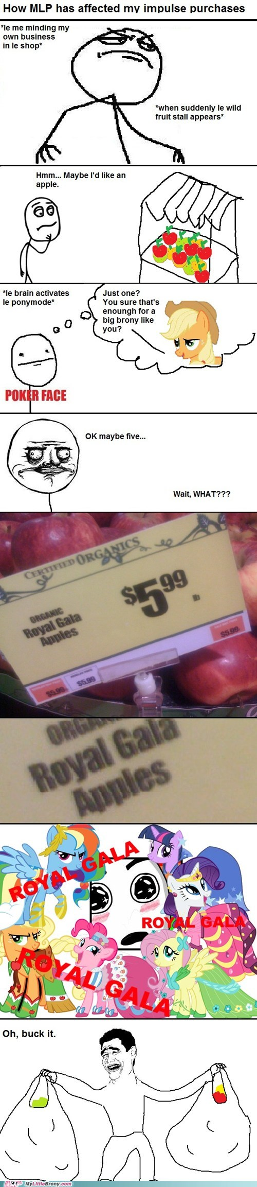 applejack,apples,comic,comics,impulse,shopping