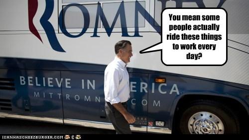 buses,Mitt Romney,political pictures,Republicans