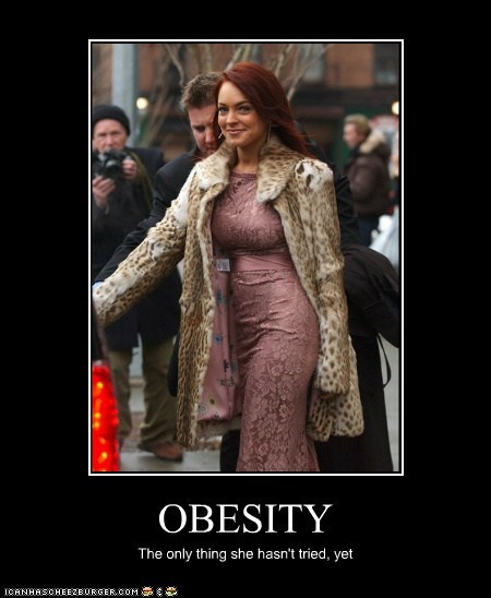 actor,celeb,demotivational,funny,lindsay lohan