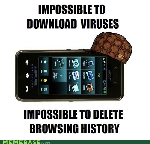 history,iphone,Scumbag Steve,viruses