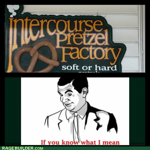 if you know what i mean,pretzels,Rage Comics,that sounds naughty