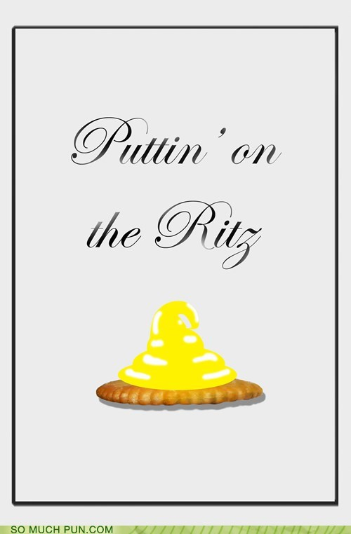 brand brand name cracker double meaning literalism name putting on the ritz ritz song - 6324395264