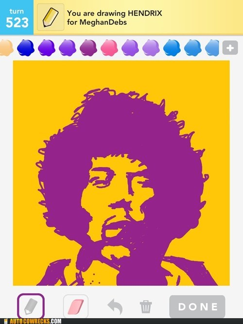 are you experienced draw something jimi hendrix - 6324511744