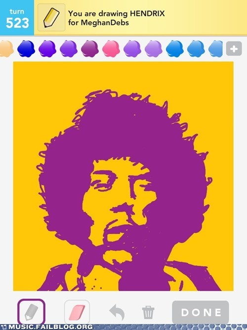 draw something,hendrix,jimi hendrix