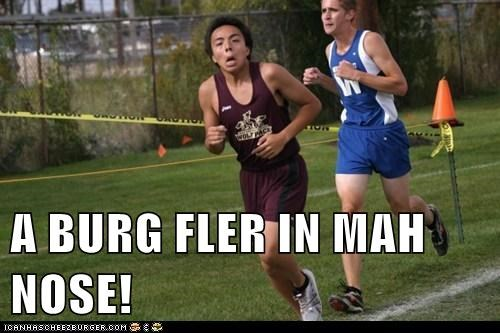 bug,derp,runner,sports,track