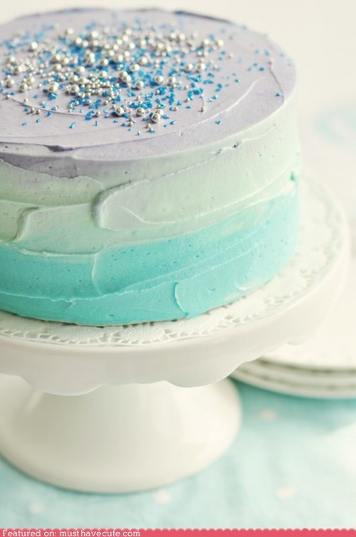 blue cake epicute frosting grey sprinkles - 6324577792