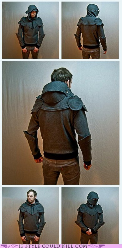 armor cool accessories hoodie knights medieval - 6324581376