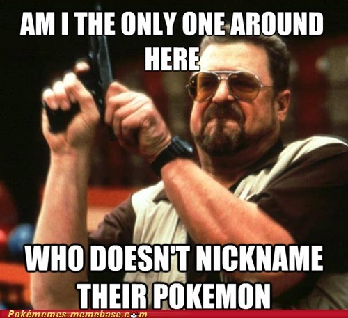 meme Memes nickname Pokémon the big lebowski - 6324703744