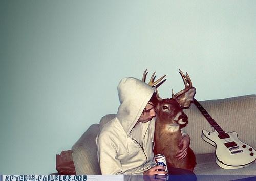 deer deer head taxidermy - 6324792576