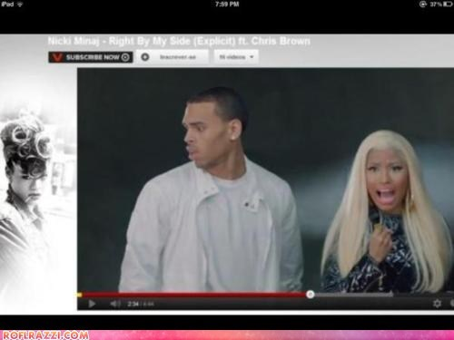 Ad celeb chris brown FAIL funny Music nicki minaj rihanna win - 6324898304