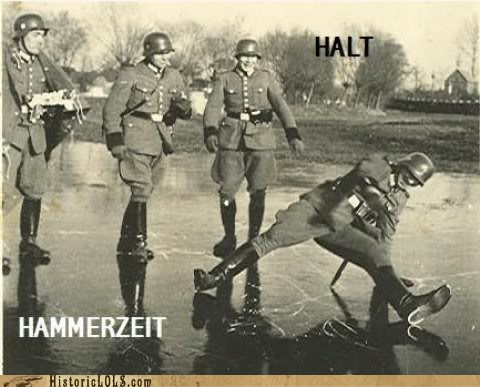 german,hammertime,ice,slip,soldiers