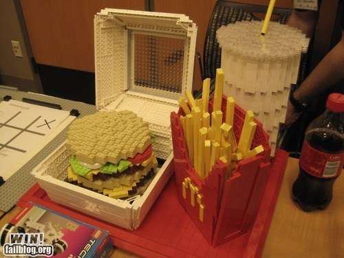bricks cute design fast food food lego - 6325173248