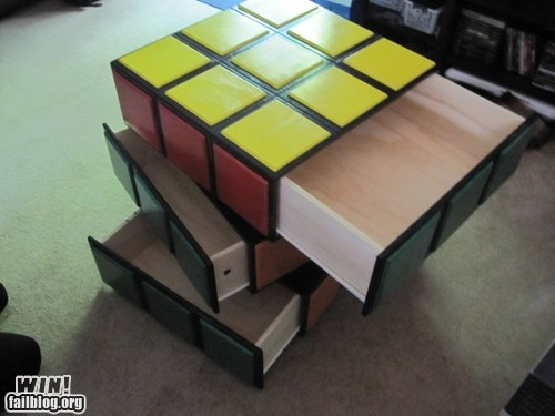 design drawers dresser nerdgasm rubiks cube - 6325174272