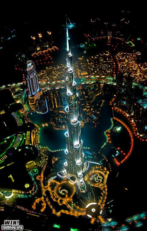 birds eye view Brother Nature FTW Burj Khalifa photography pretty colors tower - 6325175552