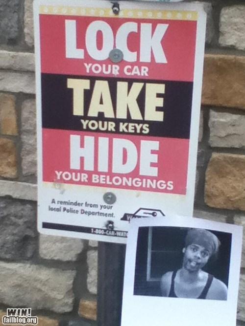 addition Antoine Dodson clever hide yo kids hide yo wife meme sign - 6325176576