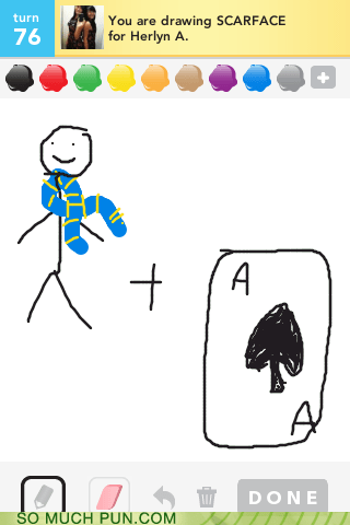 ace,blending,draw something,homophones,liason,pragmatism,scarf,scarface