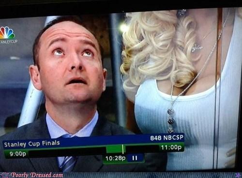 bewbs cleavage hockey lady bits - 6325366016