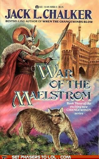 TF Sci-Fi Book Covers: War of the Maelstrom