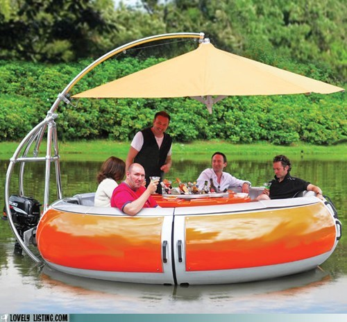 bbq best of the week boat expensive floating lake ridiculous water - 6325455104