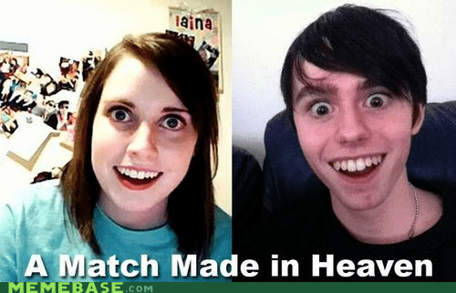 attachd boyfriend girlfriend heaven match Memes - 6325499648