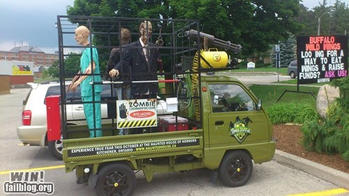 car driving nerdgasm zombie
